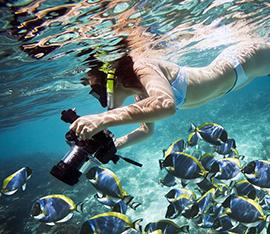 macchina fotografica subacquea